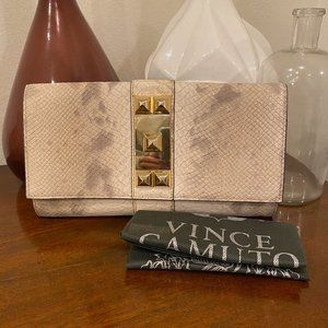 NWT Vince Camuto Louise Clutch